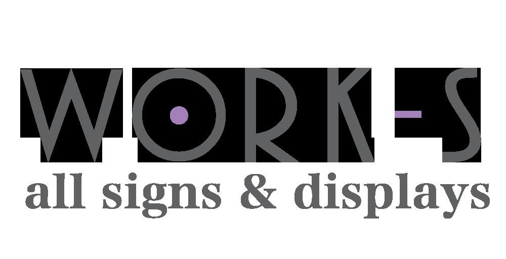 北海道釧路サイン・看板制作はwork-s(ワークス) フッターロゴ